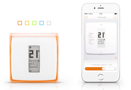 thermostat connect netatmo by engie. Black Bedroom Furniture Sets. Home Design Ideas